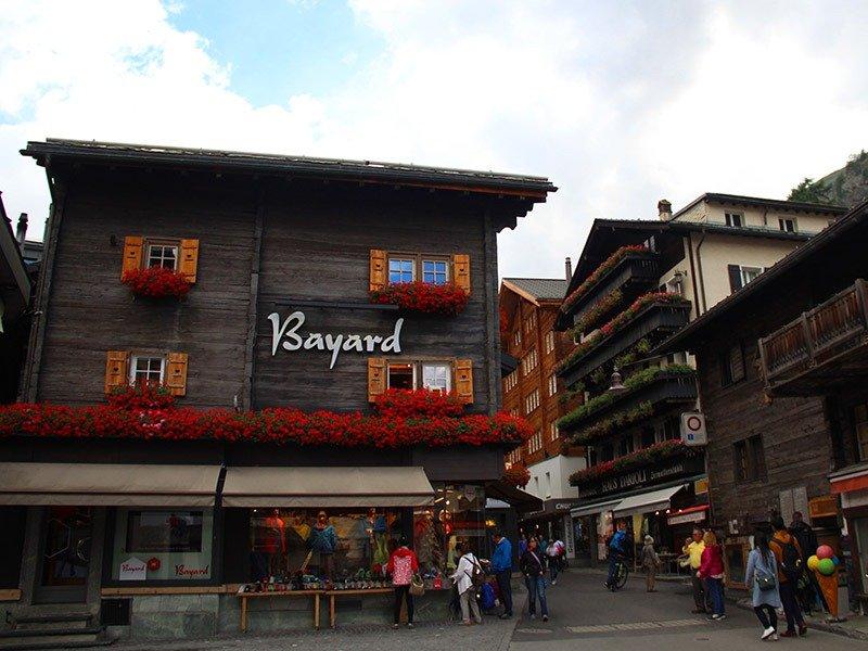 centro compras em zermatt suiça