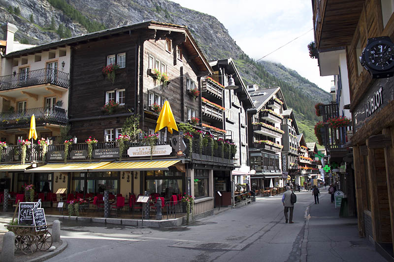 centro de zermatt dicas de viagem suiça