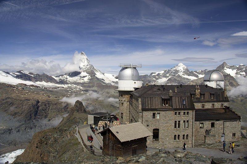 estação gornergrat vista matterhorn