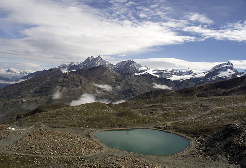 lago gornergrat zermatt suica