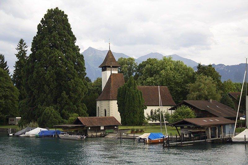lagos da suiça thun passeios