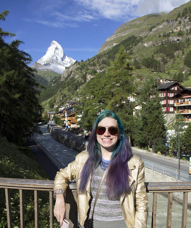 matterhorn melhor vista de zermatt suica
