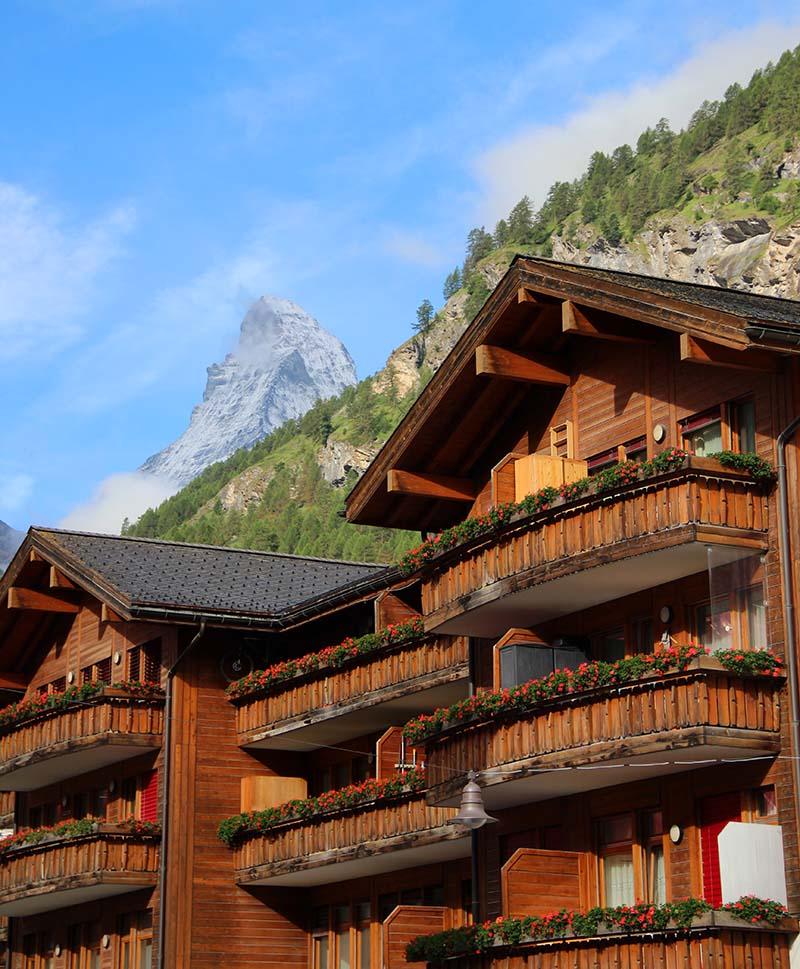 matterhorn vista de zermatt