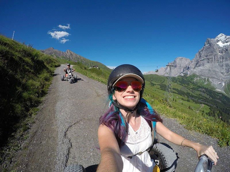motoca motorkart grindelwald first suiça