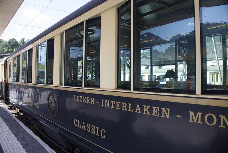 trem golden pass interlaken montreux suica