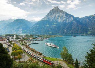 trem panoramico Gotthard Panorama Express