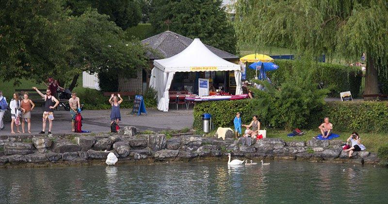 verao na suica lagos thun