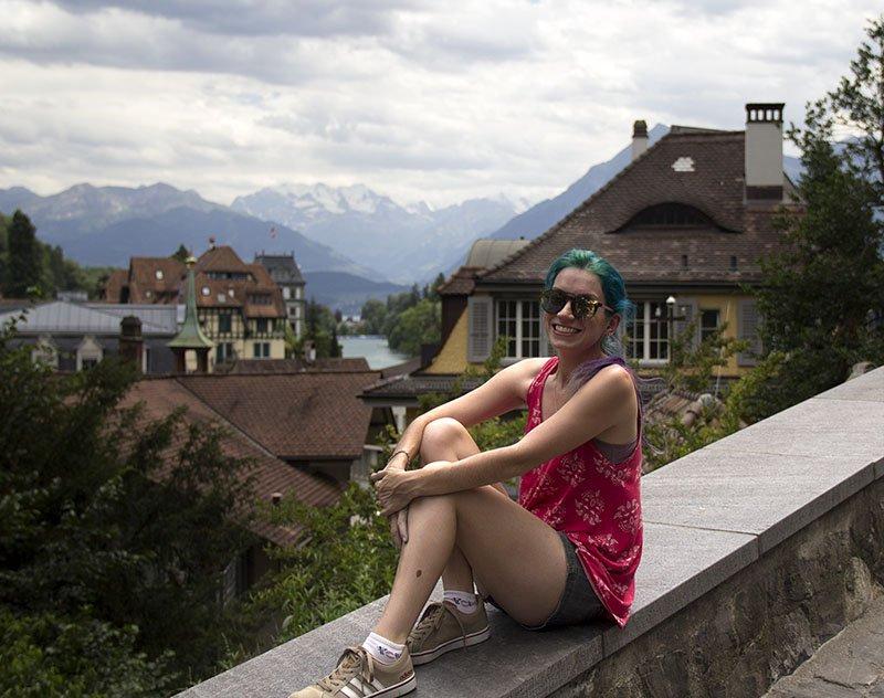 vista do lago thun passeios na suiça