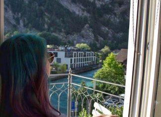 vista rio aare interlaken suica