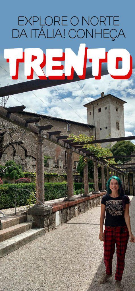Castelo em Trento ao norte da Italia, Tretino Alto Ádige, dicas de viagem