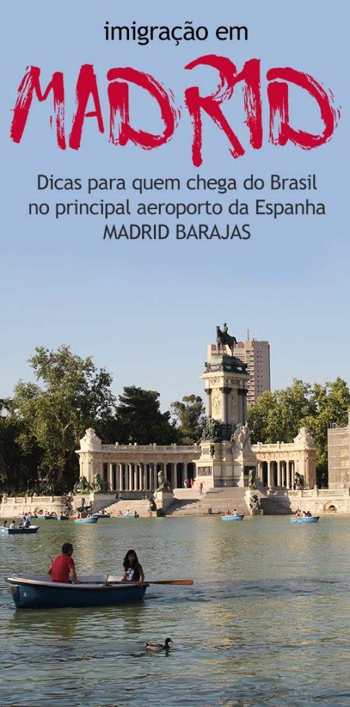 Dicas para imigração no aeroporto Madrid Barajas na Espanha