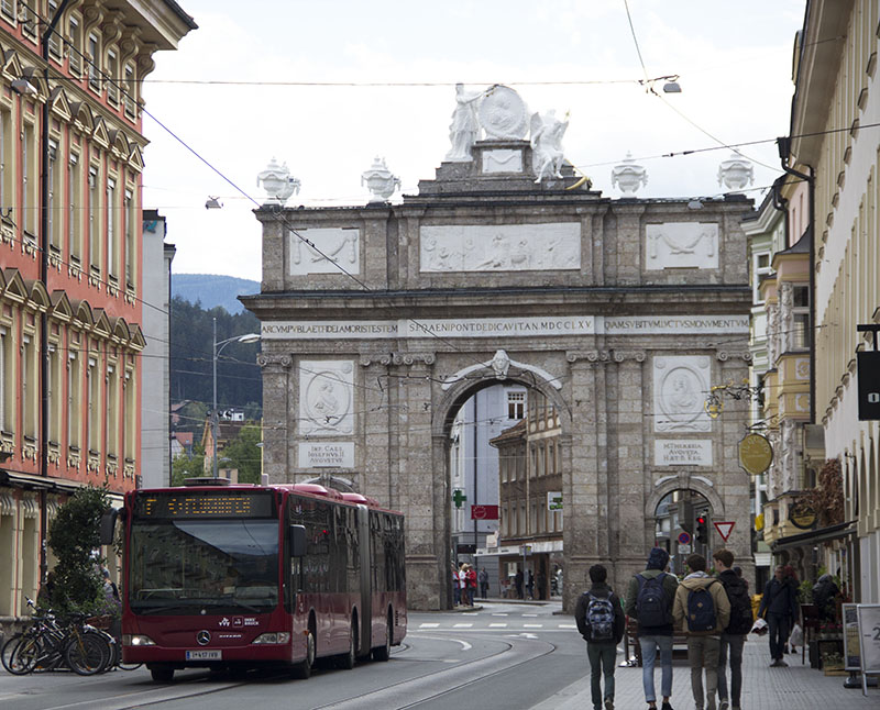 arco do triunfo innsbruck