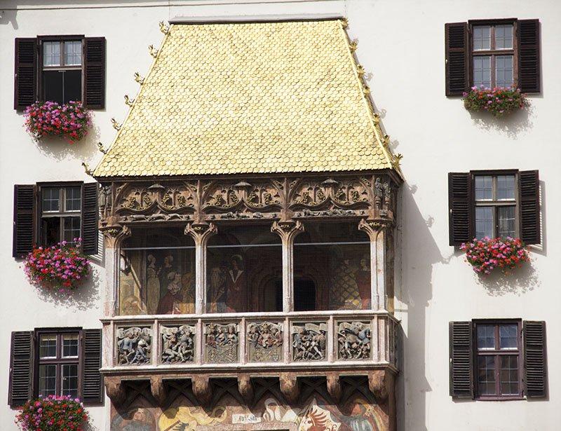goldenes dachl innsbruck austria