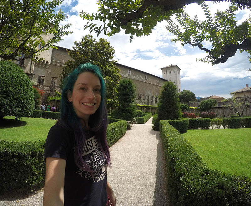 jardim do castelo de trento