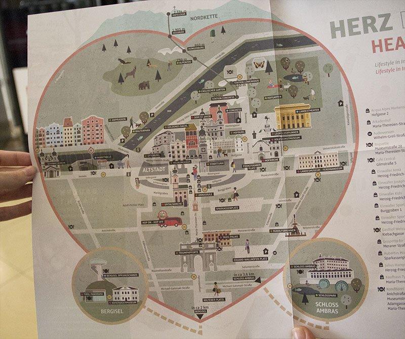 mapa innsbruck