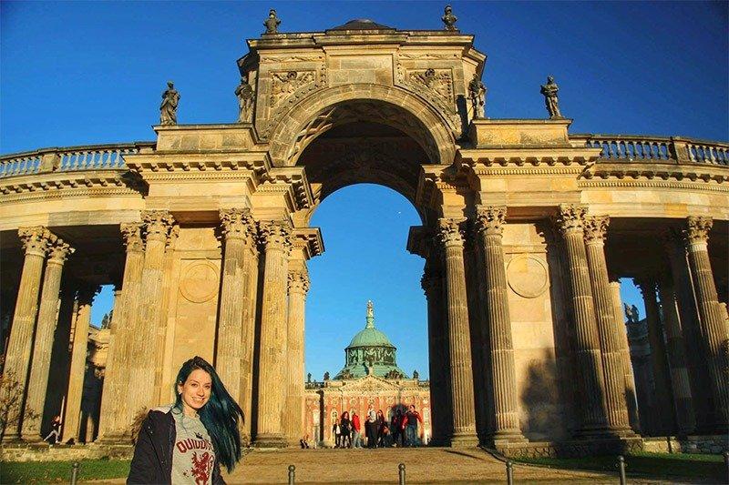 neues palais castelo sanssouci parque