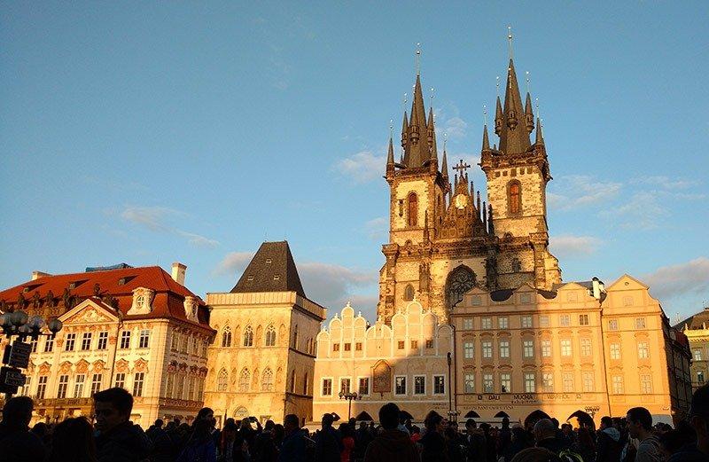 praca old town catedral tyn praga