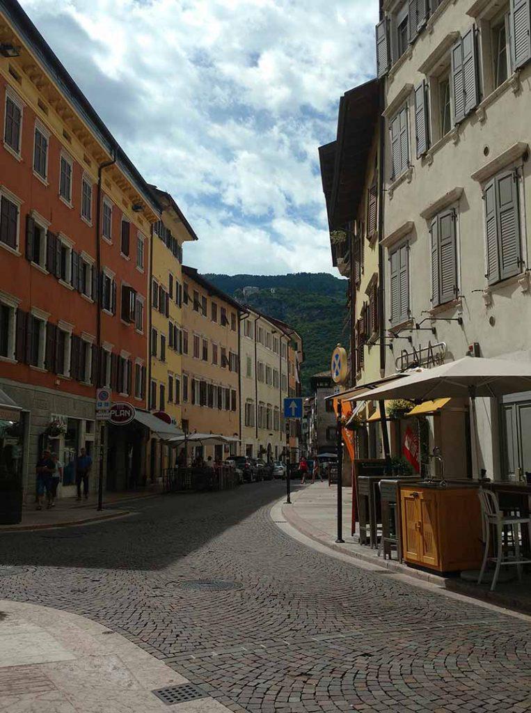ruas de trento italia
