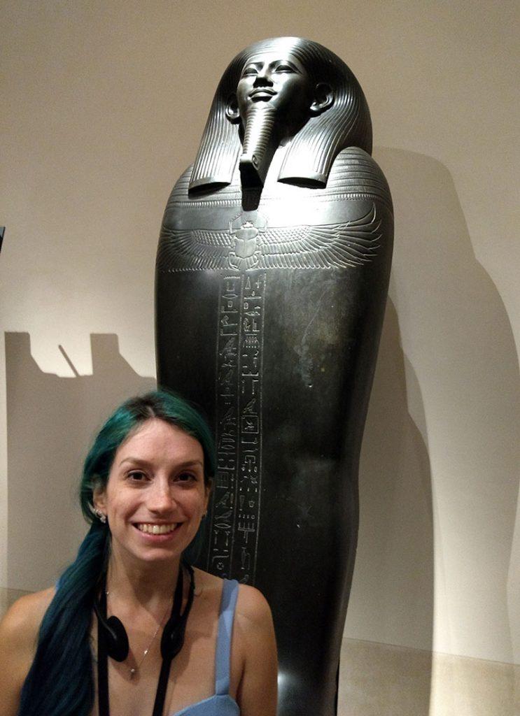 sarcofago museu egipcio em torino