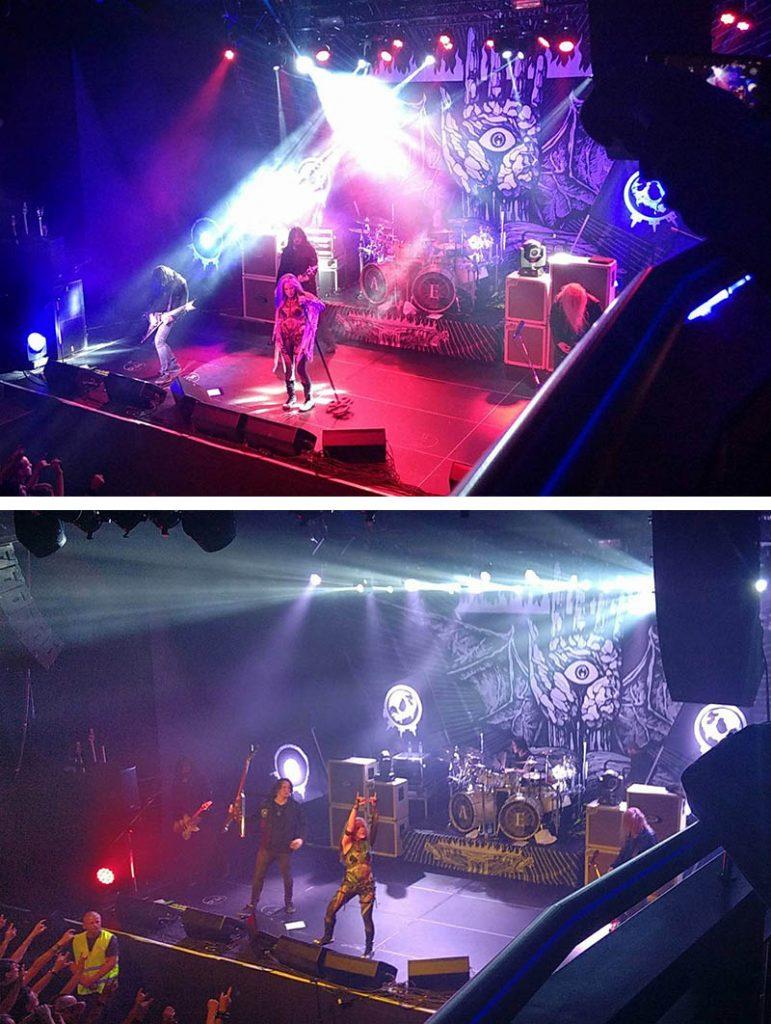 show de metal austria music hall innsbruck