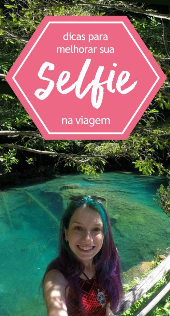 Selfie de viagem, acessórios, dicas câmera, celular e edição!