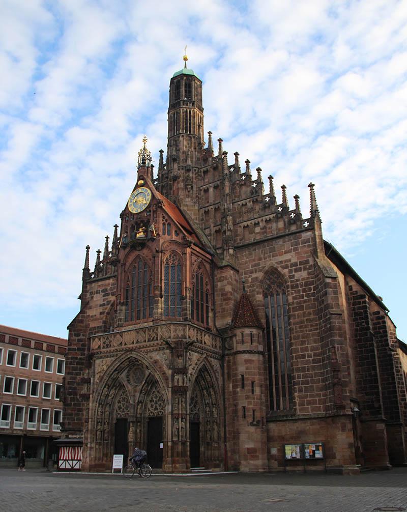 catedral nuremberg marktplatz