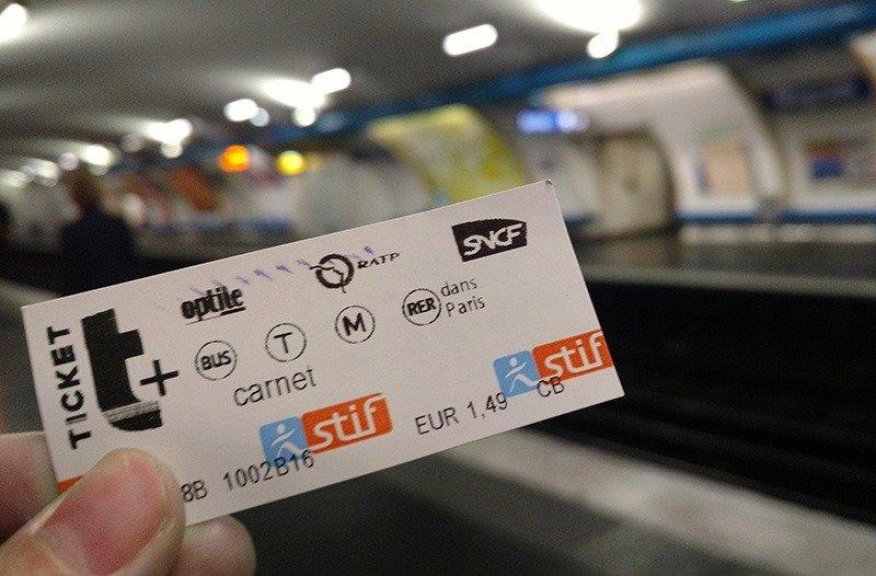como funciona o metro em paris