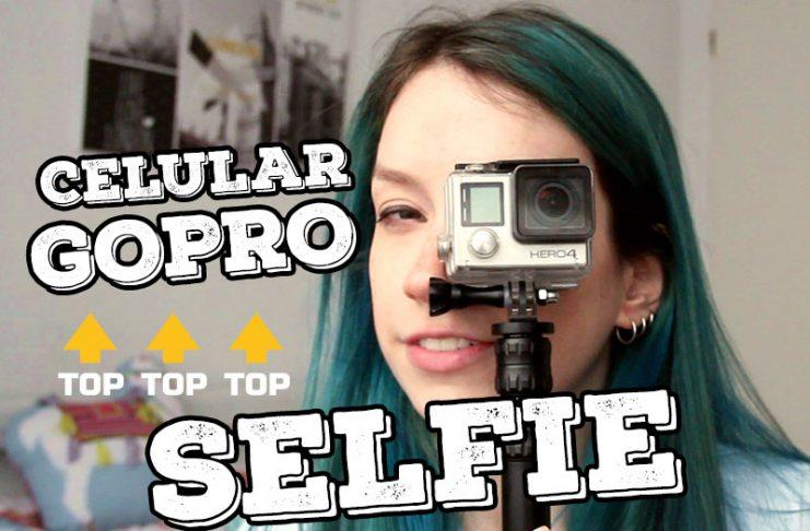 como tirar selfie de viagem melhorar foto gopro