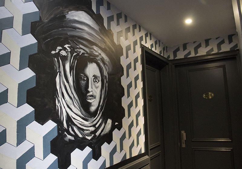 decoracao hotel em paris