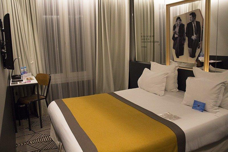 hotel em paris gaston cama