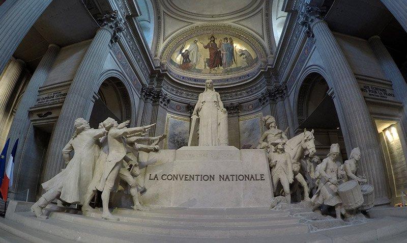 pantheon roteiro em paris 3 dias