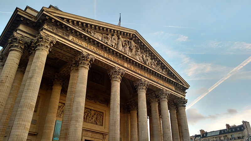 tour pantheon em paris