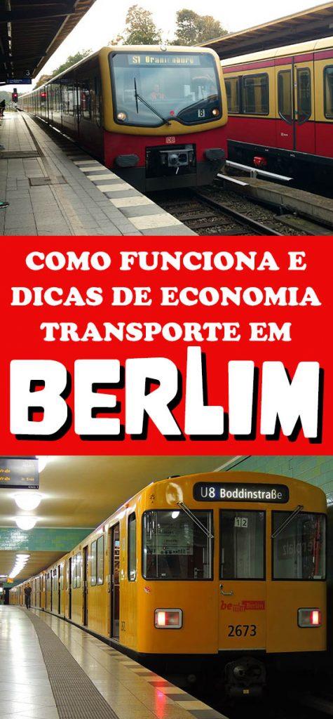 Transporte em Berlim, metro, tram tickets baratos