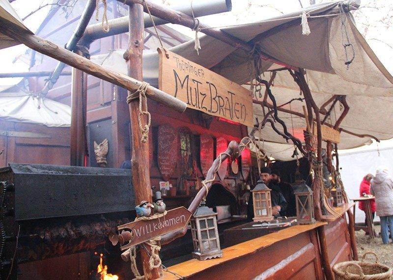 carne assada mercado medieval saxonia