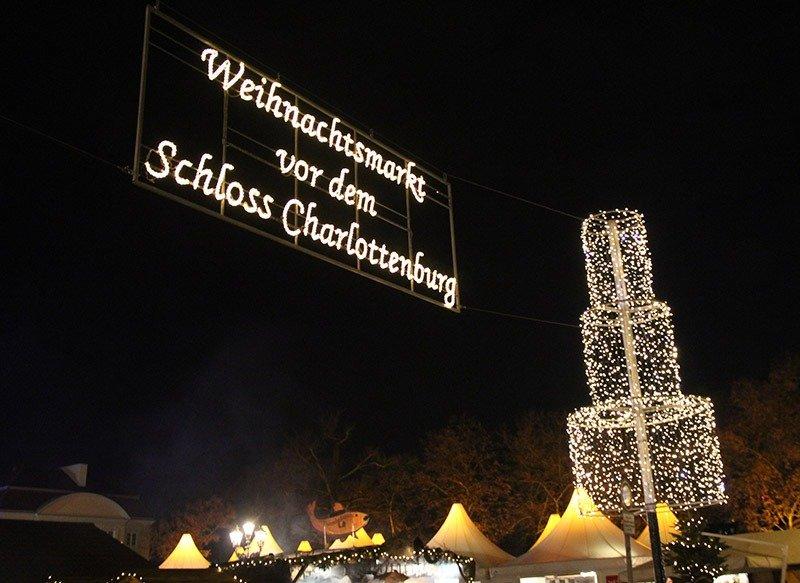 feira de natal em berlim charlottenburg schloss