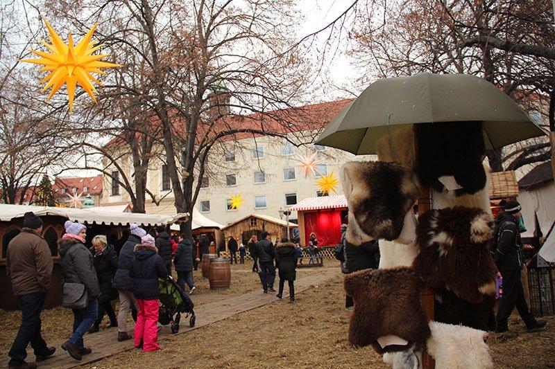 mercado medieval magdeburg inverno