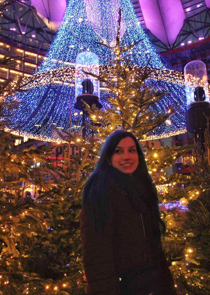 feiras de natal em berlim sony center decoracao