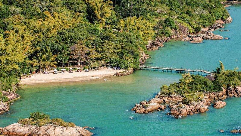 praia canto dos ganchos governador celso ramos santa catarina