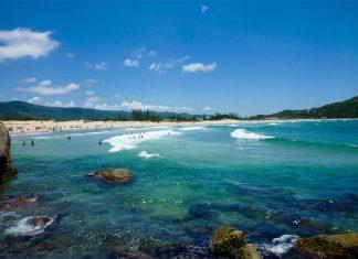 praia da ferrugem garopaba melhores praias de santa catarina
