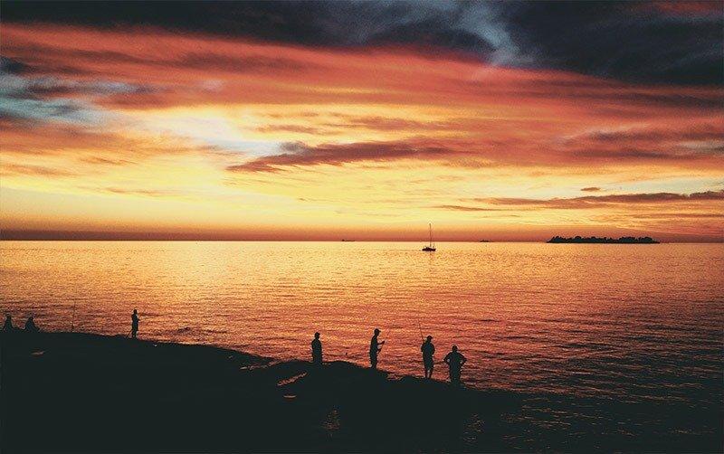 praia de colonia del sacramento uruguai
