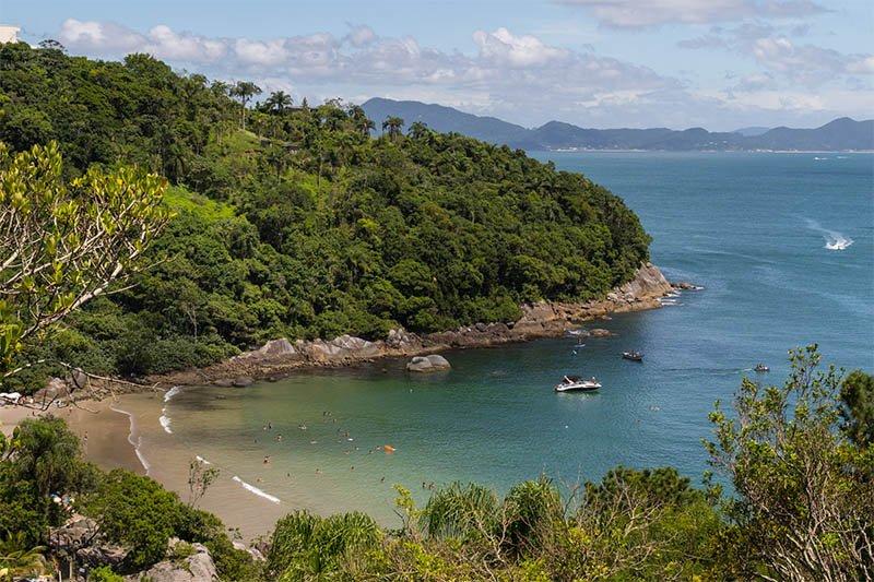 praia do estaleiro porto belo melhores praias caribe em santa catarina