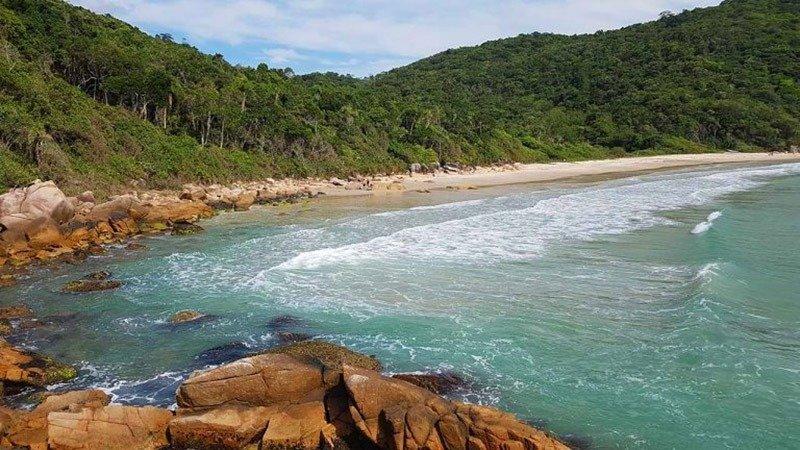 praia do sissial governador celso ramos praias de santa catarina