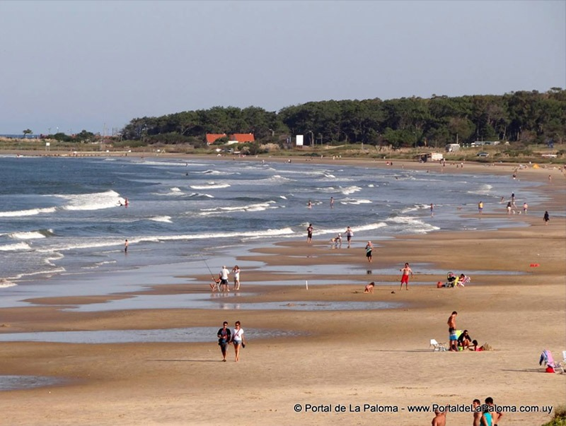 praia no uruguai la paloma itinerario