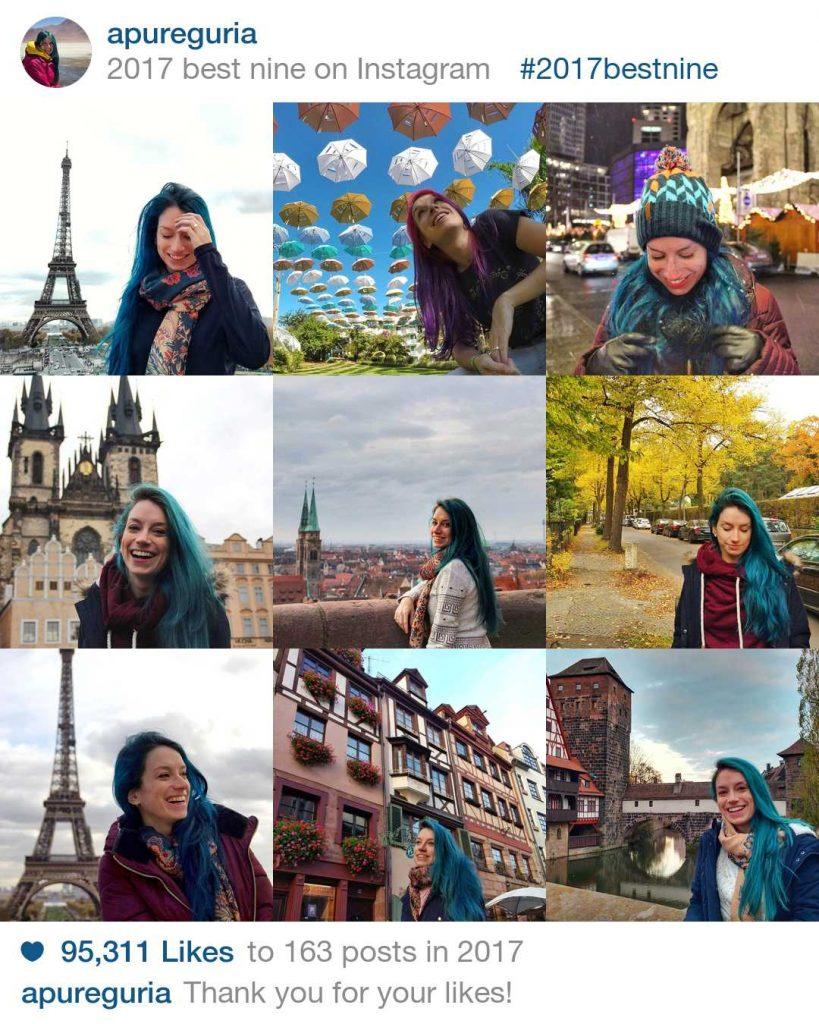 retrospectiva viagens 2017 apure guria instagram