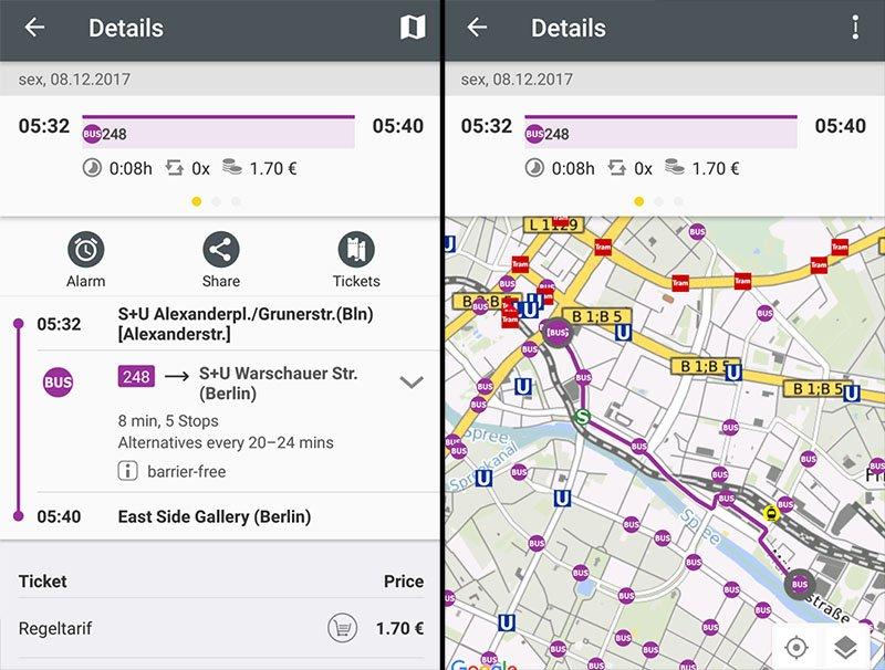 transporte em berlim metro como funciona app