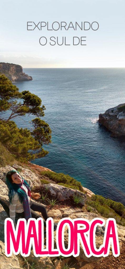 Roteiro sul de Mallorca, dicas e praias azuis