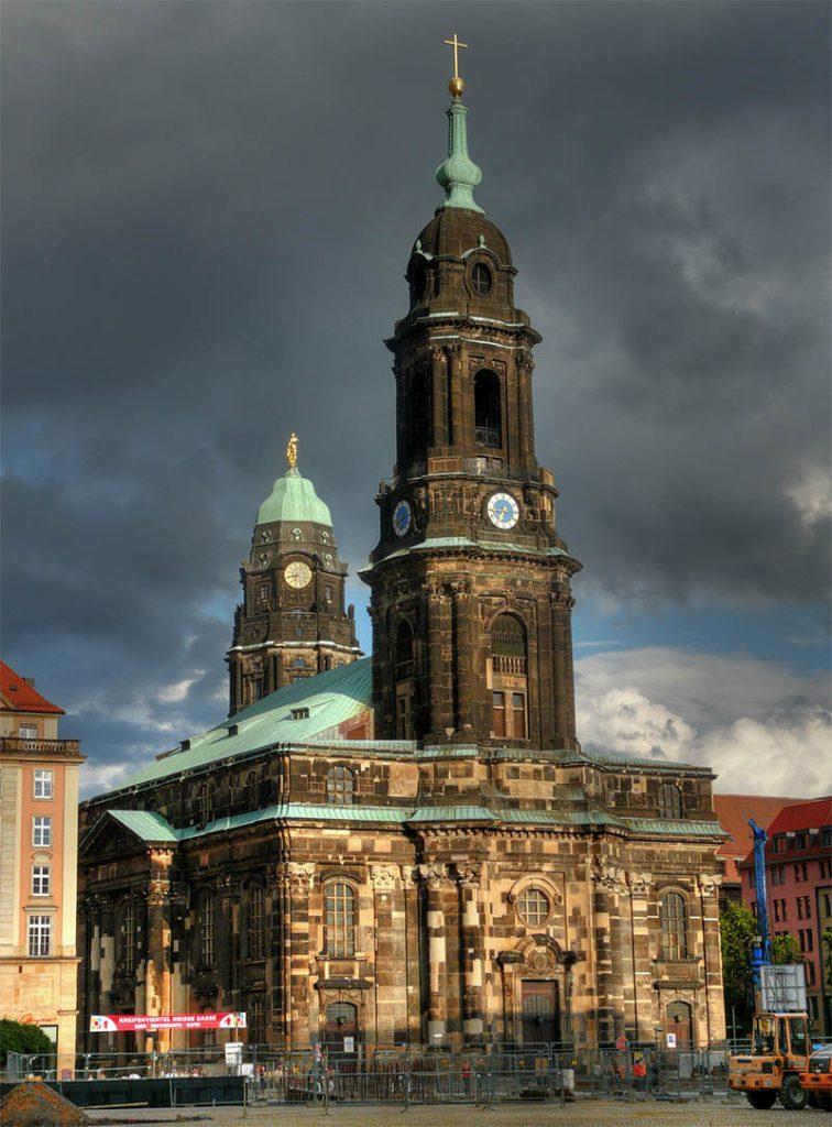 igreja em dresden kreuzkirche