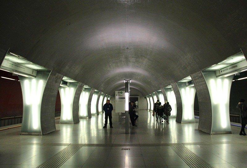 metro em budapeste estacao