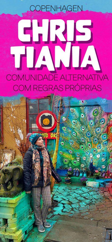 Christiania, comunidade hippie em Copenhagen, maconha