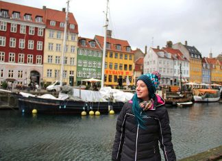 casas coloridas copenhagen canal nyhavn